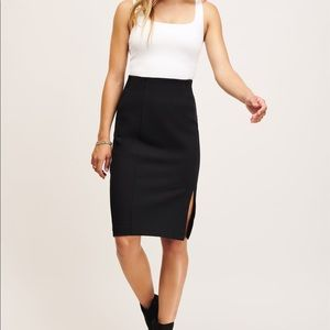 NWOT Ultra-High Rise Pencil Skirt